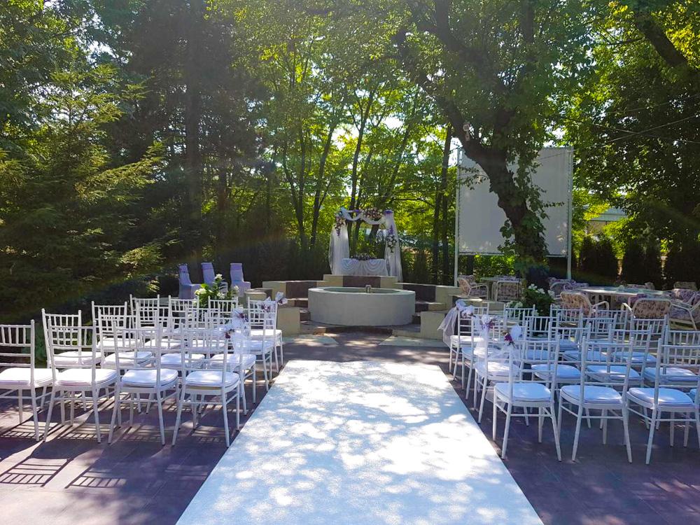svadba na otvorenom